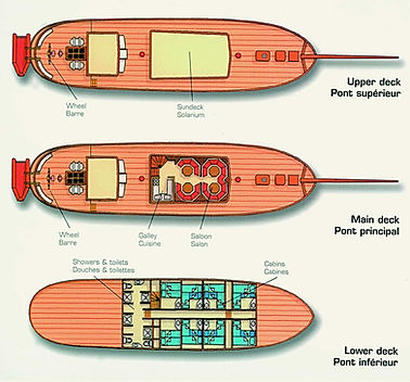 SEA PEARL Deckplan