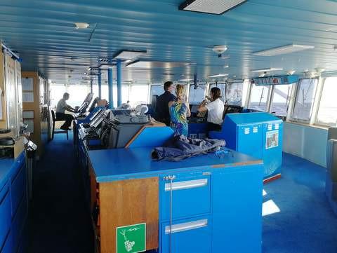 Windstar Cruises STAR PRIDE Brücke