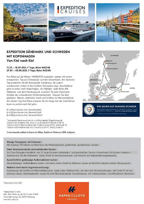 HANSEATIC INSPIRATION INS2148 INS2150