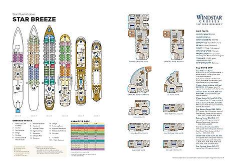 Windstar Cruises Deckplan