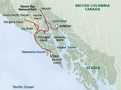 UnCruise Expeditionskreuzfahrten Alaska