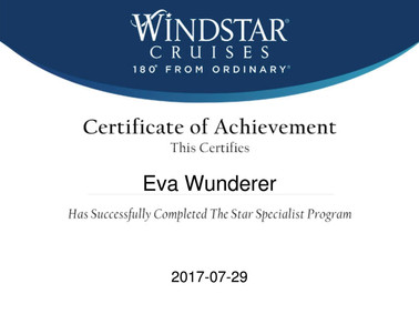 Windstar Zertifikat