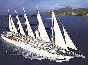 Windsurf Segelschiff Segelkreuzfahrten