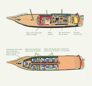 SEA STAR Deckplan