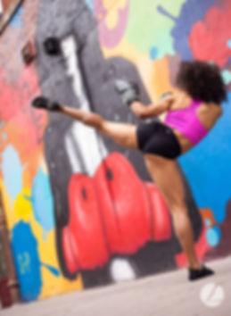 Amira Lambcardo kickboxing BattleGroove