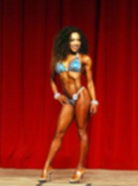 Amira Lamb IFBB Bikini Pro Masters Champion