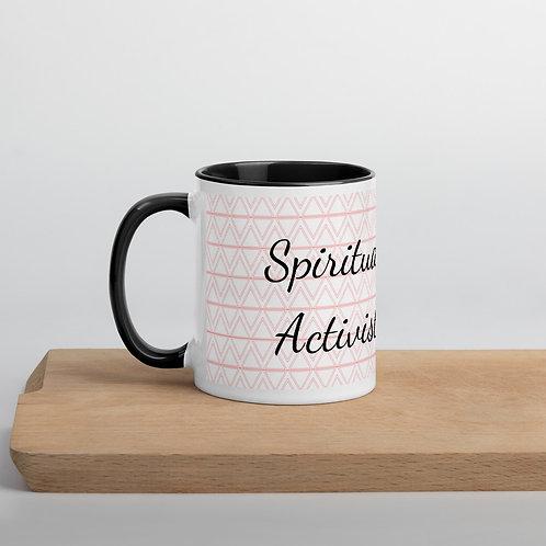 Spiritual Activist Mug Black