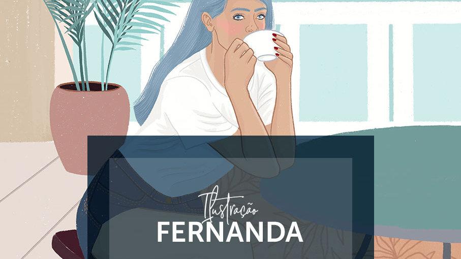 Ilustração Fernanda