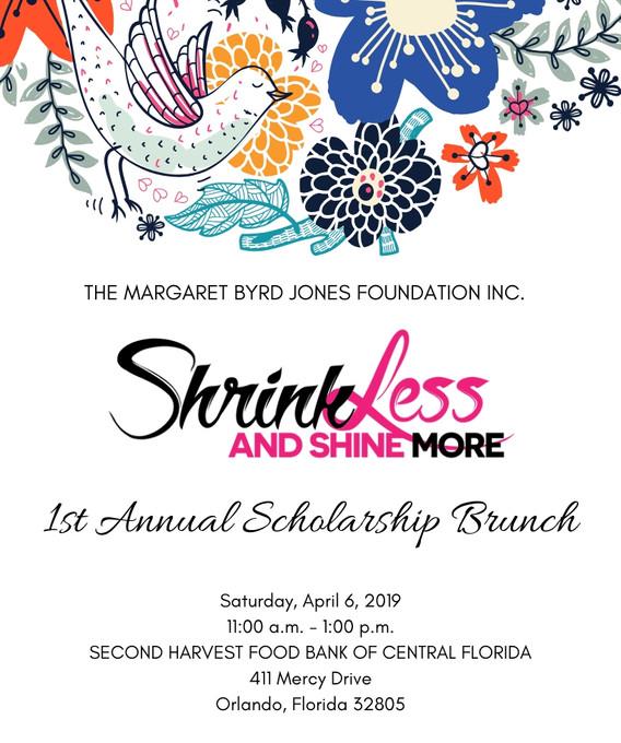 Shrink Less Shine More Scholarship Brunch