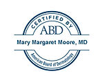 Dr. Mary Moore, board certfied dermatologist