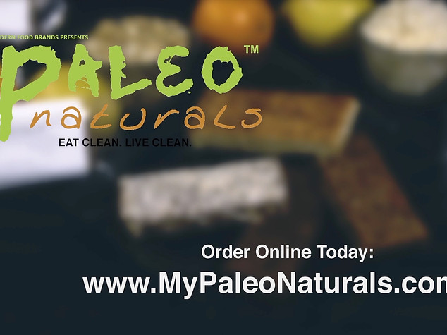 MODERN FOOD BRANDS: PALEO NATURALS (PRODUCT TESTIMONIAL)