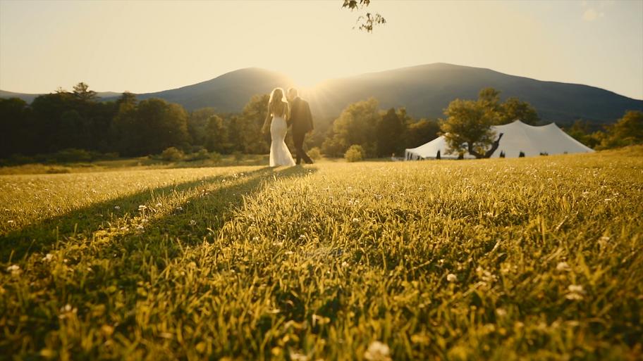 Hildene Walking Away - Sun & Mountains -
