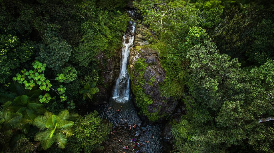 La Minas Waterfall
