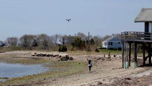 drone and carla