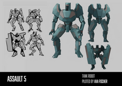 Tank Robot Character Sheet