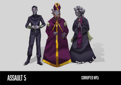 Corrupted Non-Playable Characters