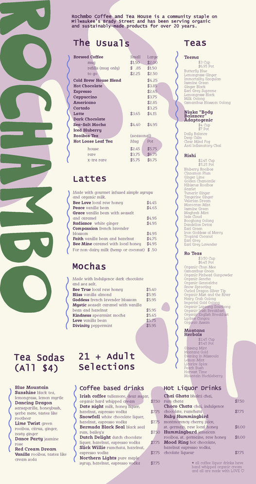 Rochambo Menu Re-design
