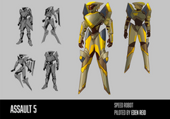 Speed Robot Character Sheet