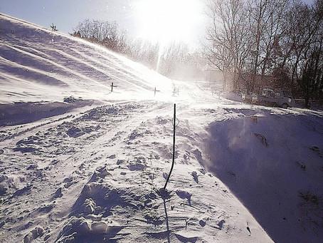 「雪の影響…」