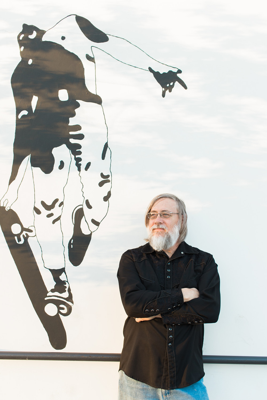 Miles O'Neal, Austin author (photo credit: Elkk Photography)