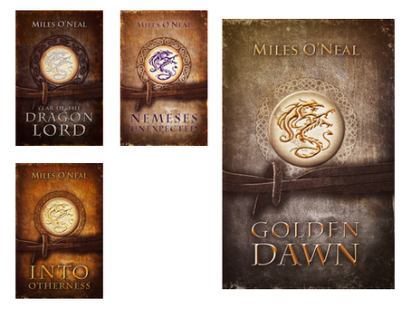 Cover Reveal - Golden Dawn