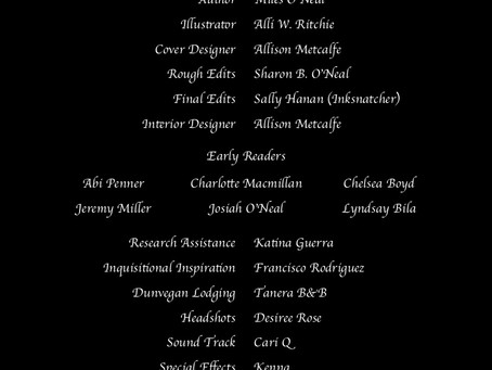 Credits for Nemeses Unexpected