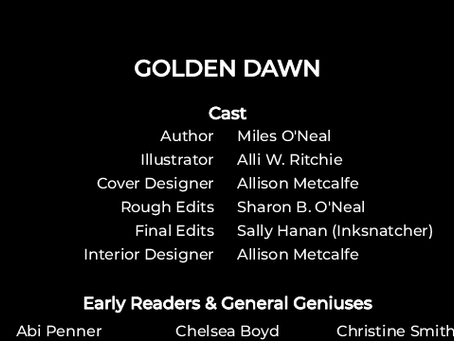 End Credits for Golden Dawn