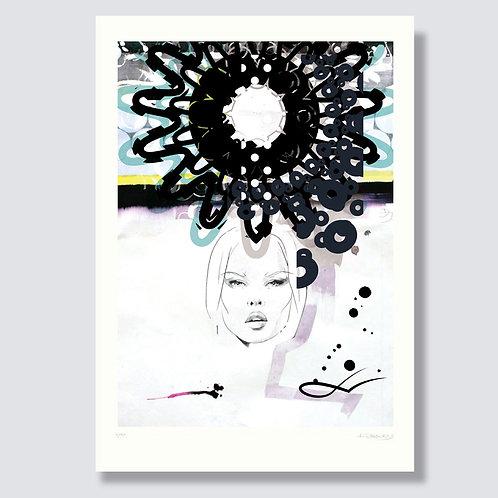 """""""Lightning1"""" Format 59,4 x 42 cm, inkjet print"""