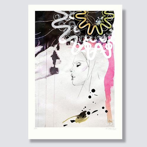 """Dream 4"" Format 59,4 x 42 cm, inkjet print"