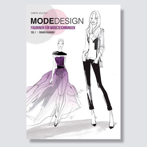 Modedesign - Figurinen für Modezeichnungen