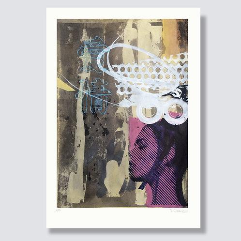 """Dream 1"" Format 59,4 x 42 cm, Giclée print"