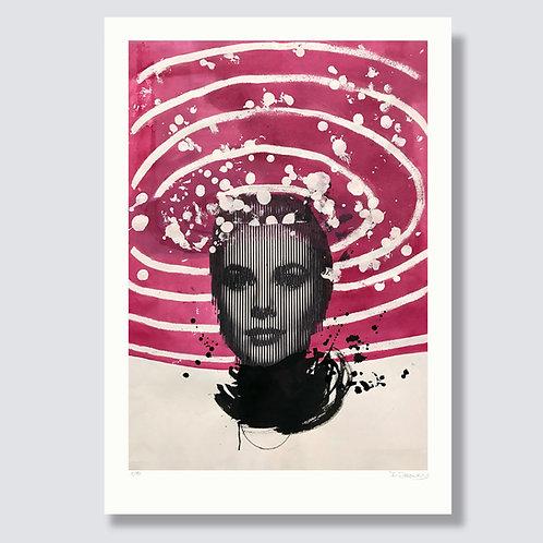 """Grace Kelly"" 42 x 29,7 cm, Giclée print"