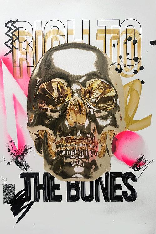 Golden skull 2020/1 (consumption series)