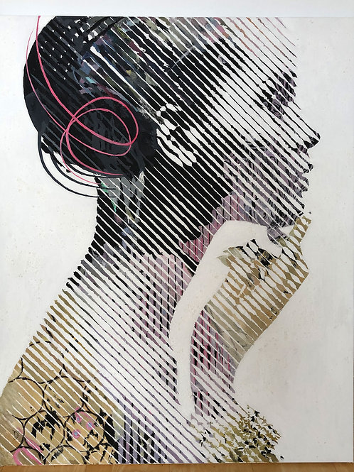 """""""Dream 5"""" 100x80cm, acrylic on canvas"""