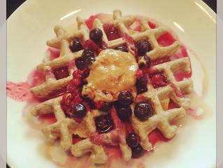 Waffle your oatmeal.
