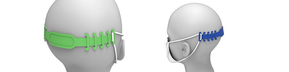 Maskenhalter, Komfohr, Ohrenschoner, Druckschmerzen Ohren, Ohrenschmerzen, Tragehilfe, Nackenband, Erleichterung für Ohren, Entlastung Ohren, Maskenpflicht
