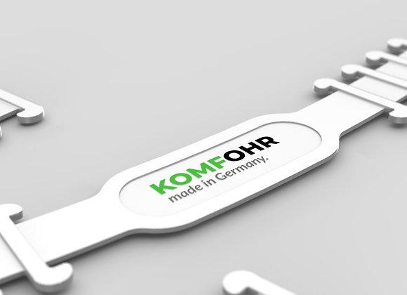 KOMFOHR Maskenband - Individualisierbar mit Logo/ Wunschfarbe