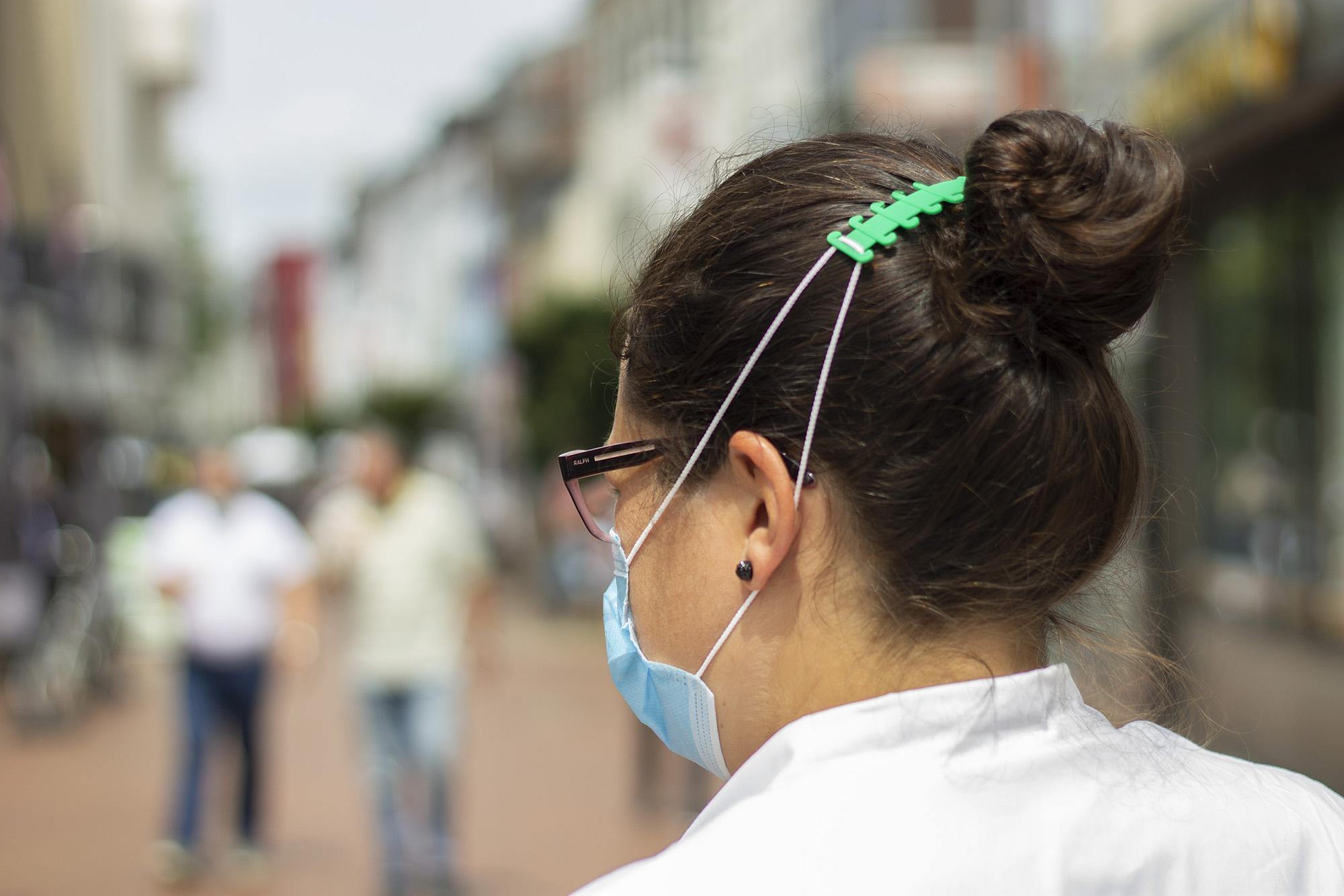 Komfohr Maskenhalter, Ohrenschoner