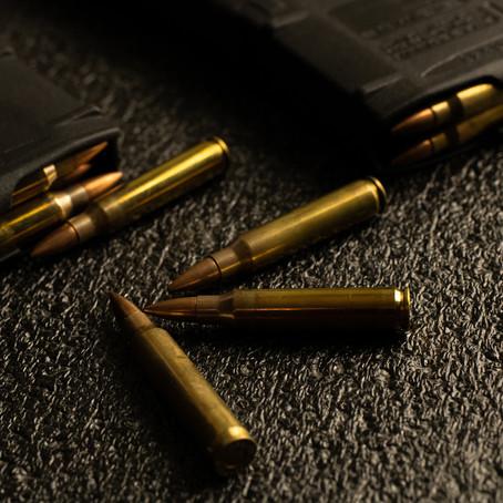 Como armazenar munições?
