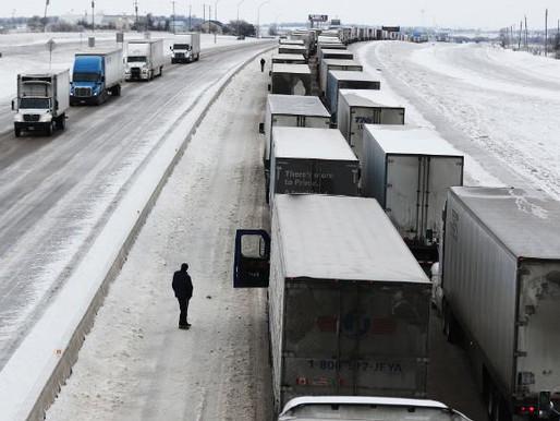 Snow storm wreaks havoc across Texas