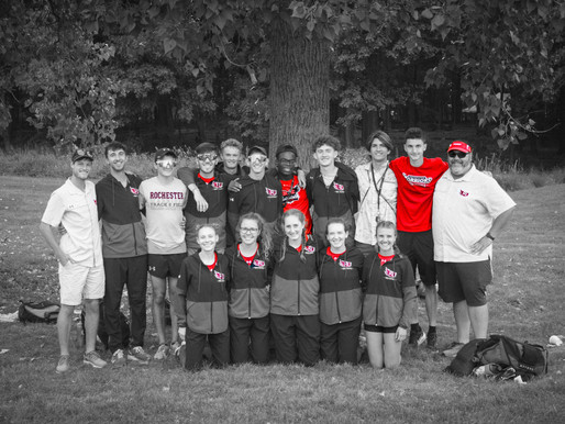 Rochester XC begins season with love from track & field family