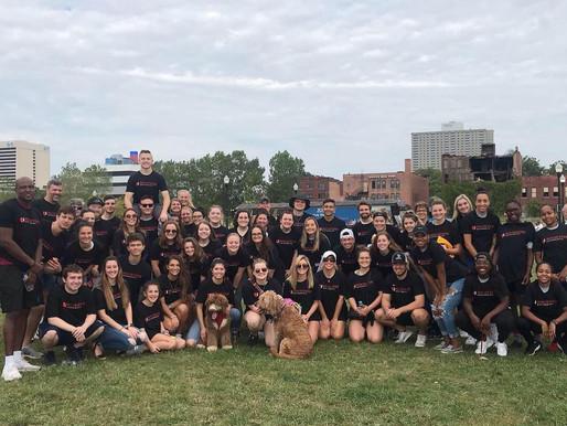 Rochester University participates in JDRF walk