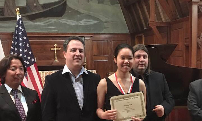 "Meghan Tan, USA - II Prize, Category ""Young Artist"""