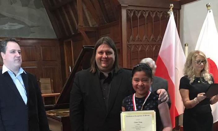 """Claire Tong, USA - I Prize, Category """"Junior"""""""