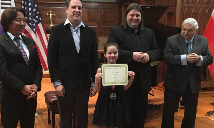 "Emma Waite, USA - II Prize, Category ""Junior"""