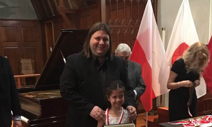 "Sophia Popescu, USA - I Prize, Category ""Junior"""
