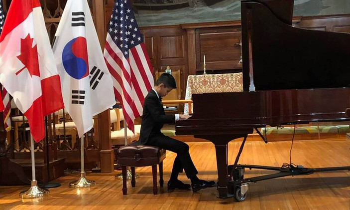"""Ian Lin, USA - I Prize, Category """"Junior"""""""