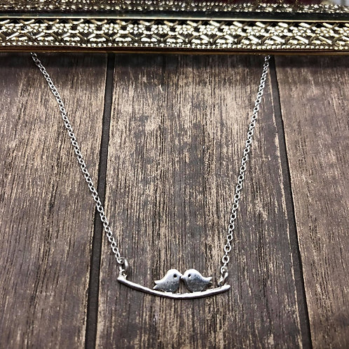 Love Birds, 925 Sterling Silver