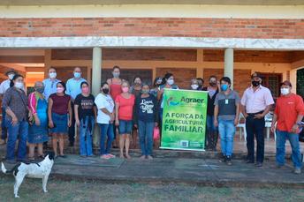 Equipes da Agraer participam de ações da campanha Agosto Lilás em Itaquiraí e Taquarussu
