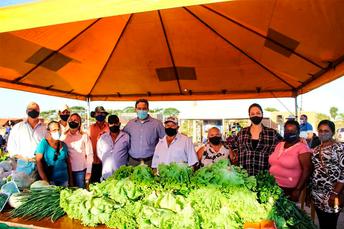 Feira Municipal da Agricultura Familiar em Nova Alvorada do Sul é reativada